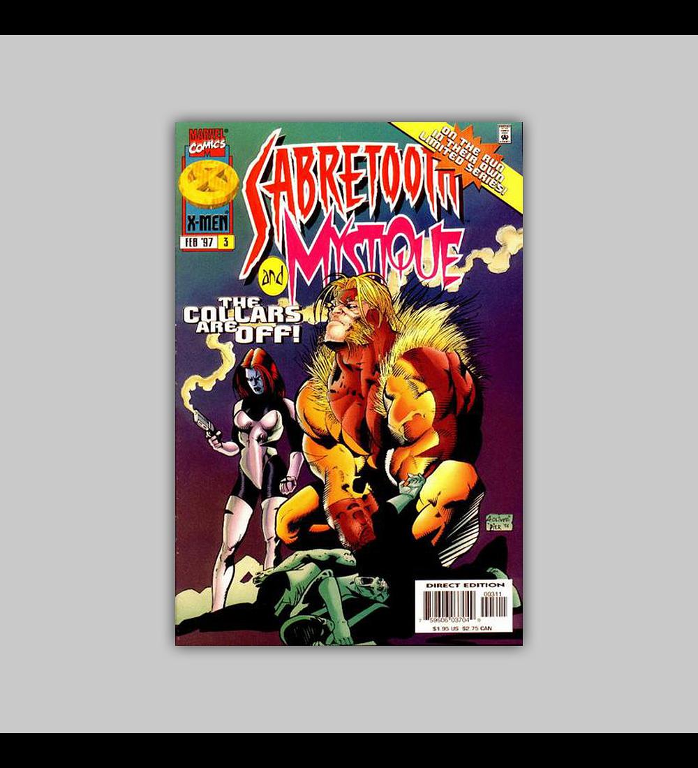 Sabretooth and Mystique 3 1997