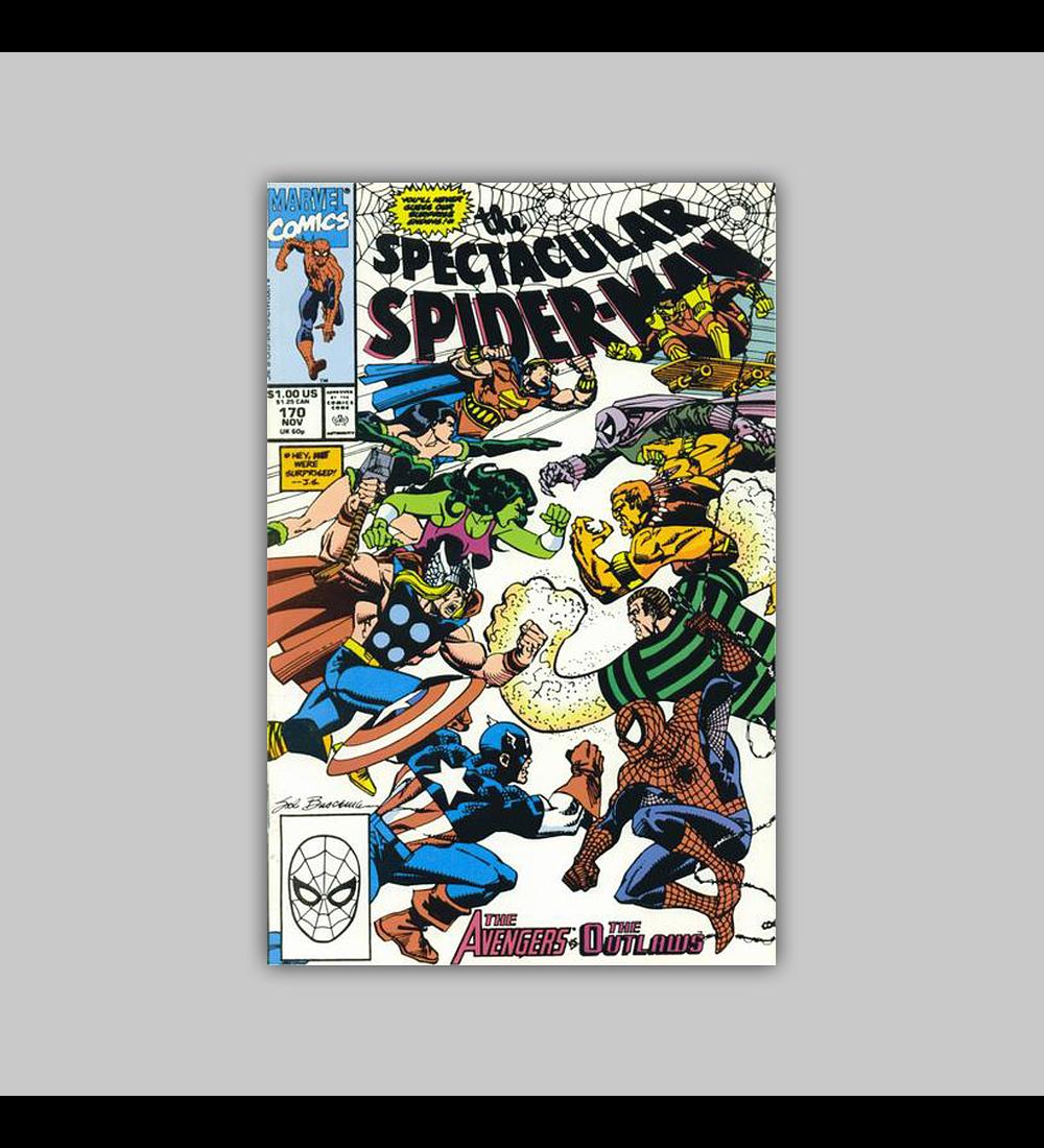 Spectacular Spider-Man 170 1990