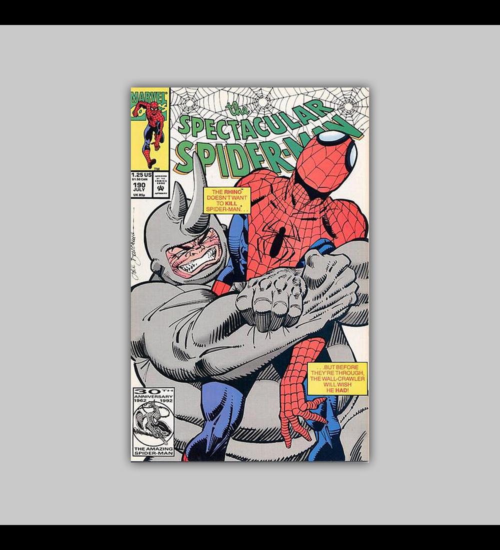 Spectacular Spider-Man 190 1992