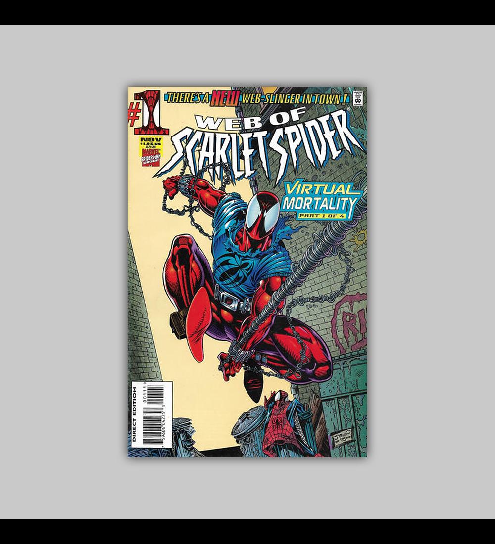 Web of Scarlet Spider 1 1995