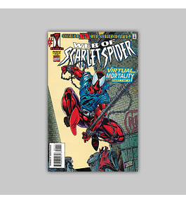 Web of Scarlet Spider 1 1995