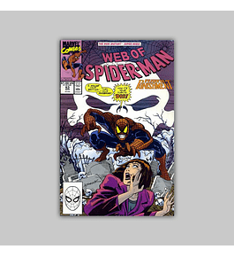 Web of Spider-Man 63 1990