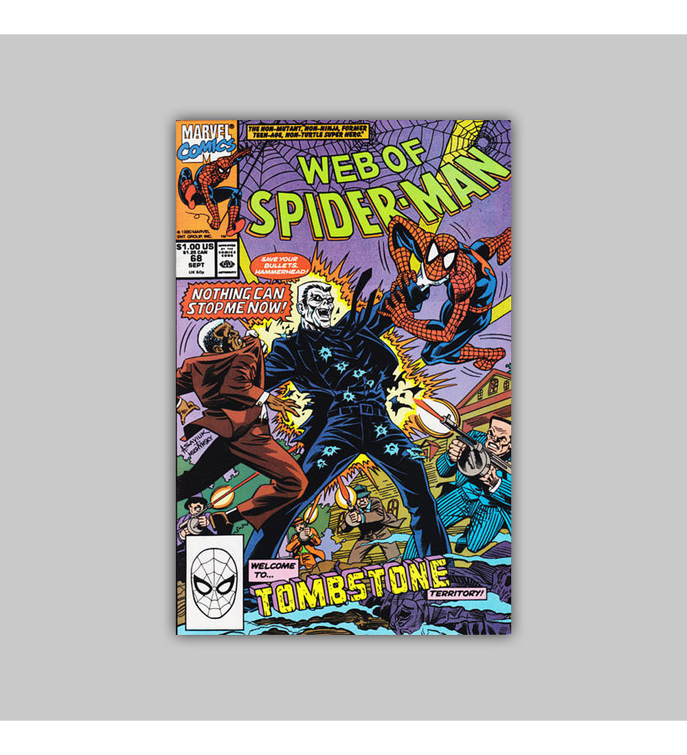 Web of Spider-Man 68 1990