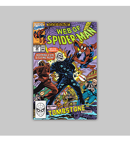 Web of Spider-Man 68 1990