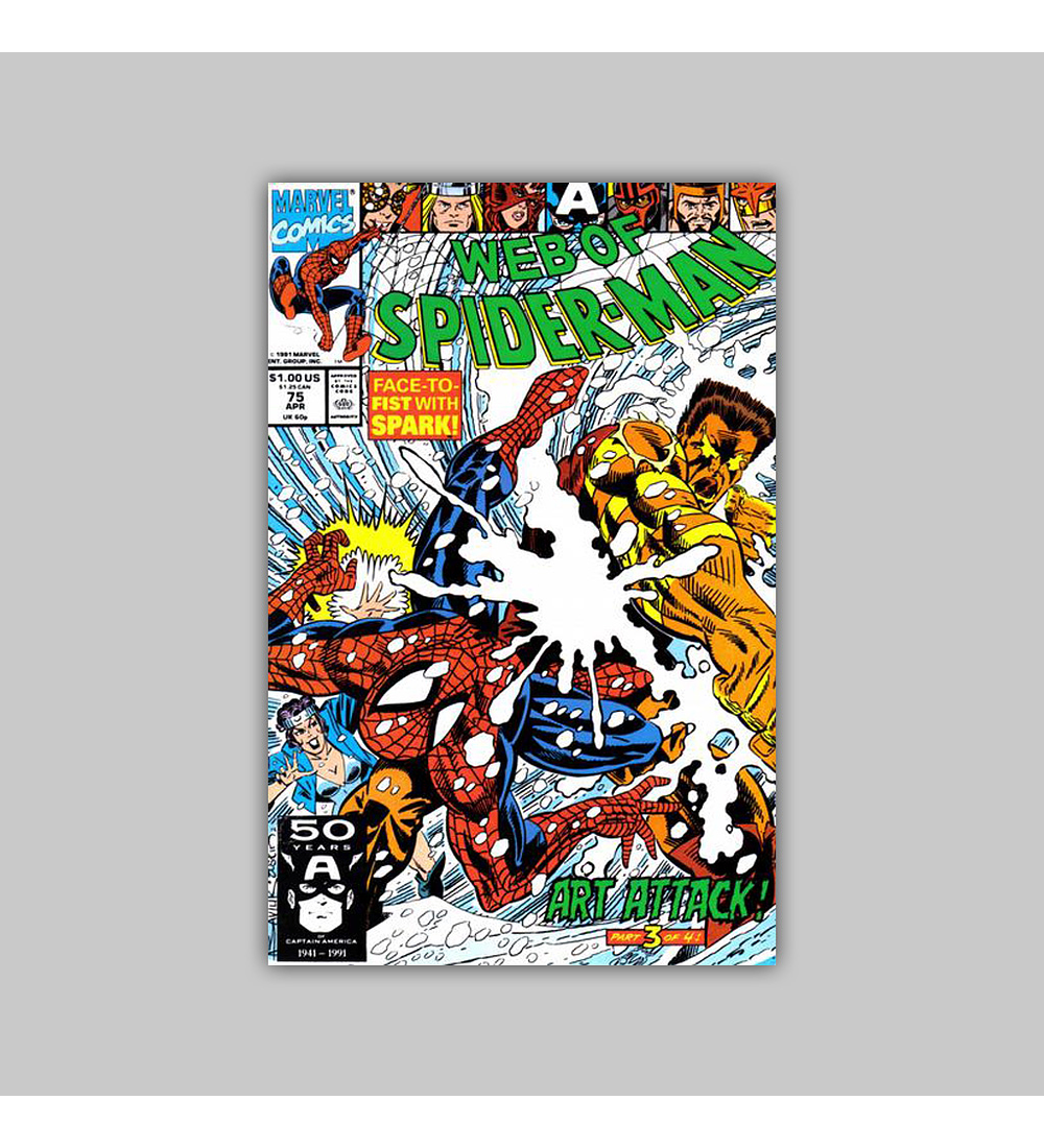 Web of Spider-Man 75 1991