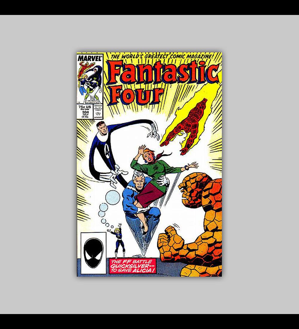 Fantastic Four 304 1987