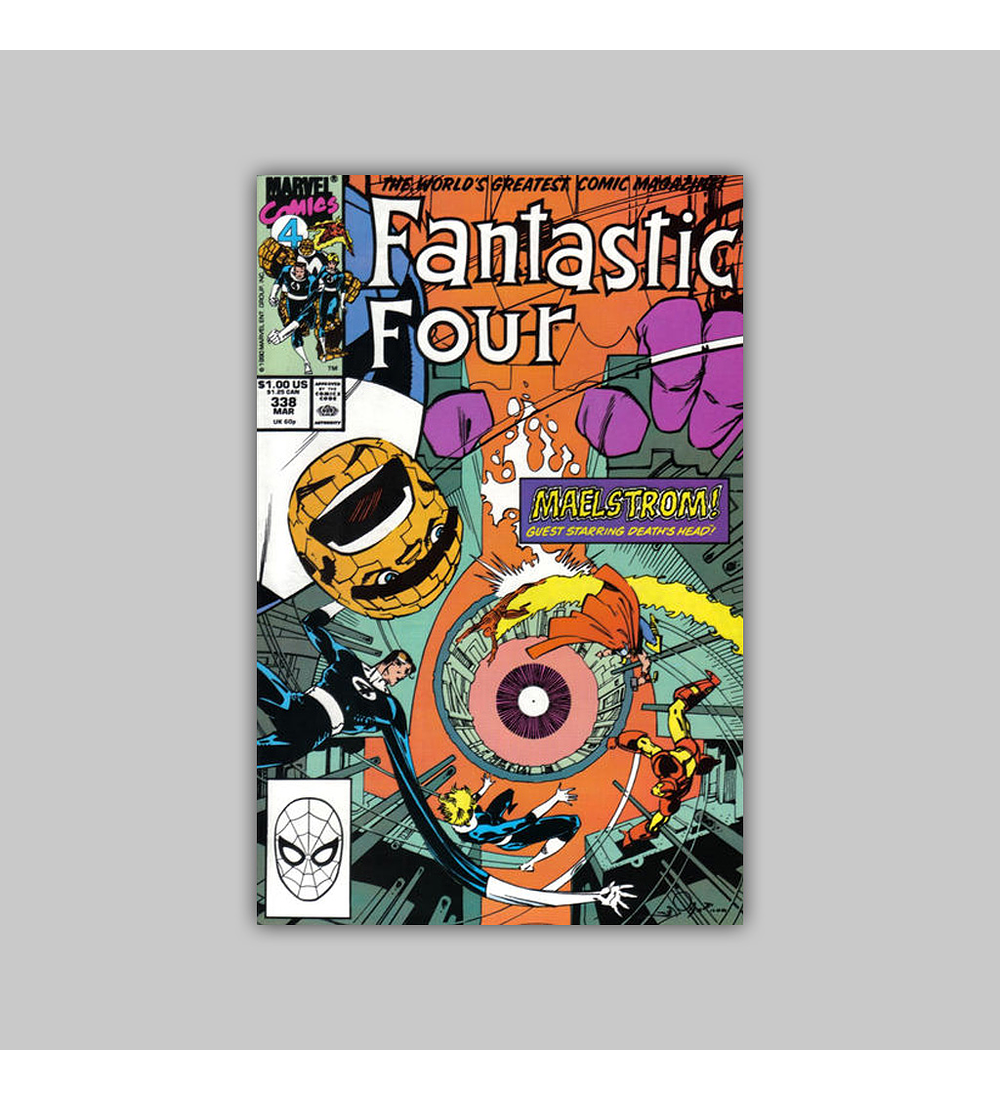 Fantastic Four 338 1990