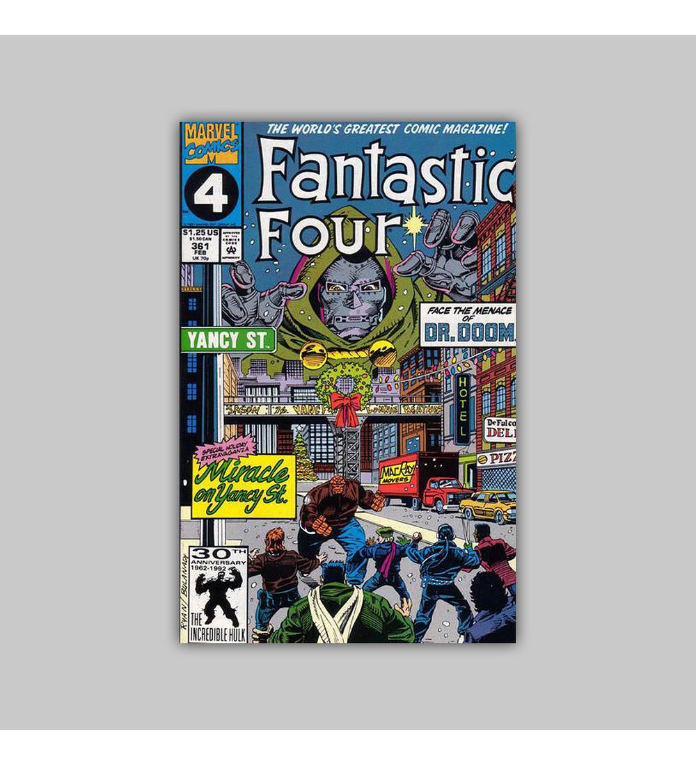 Fantastic Four 361 1992