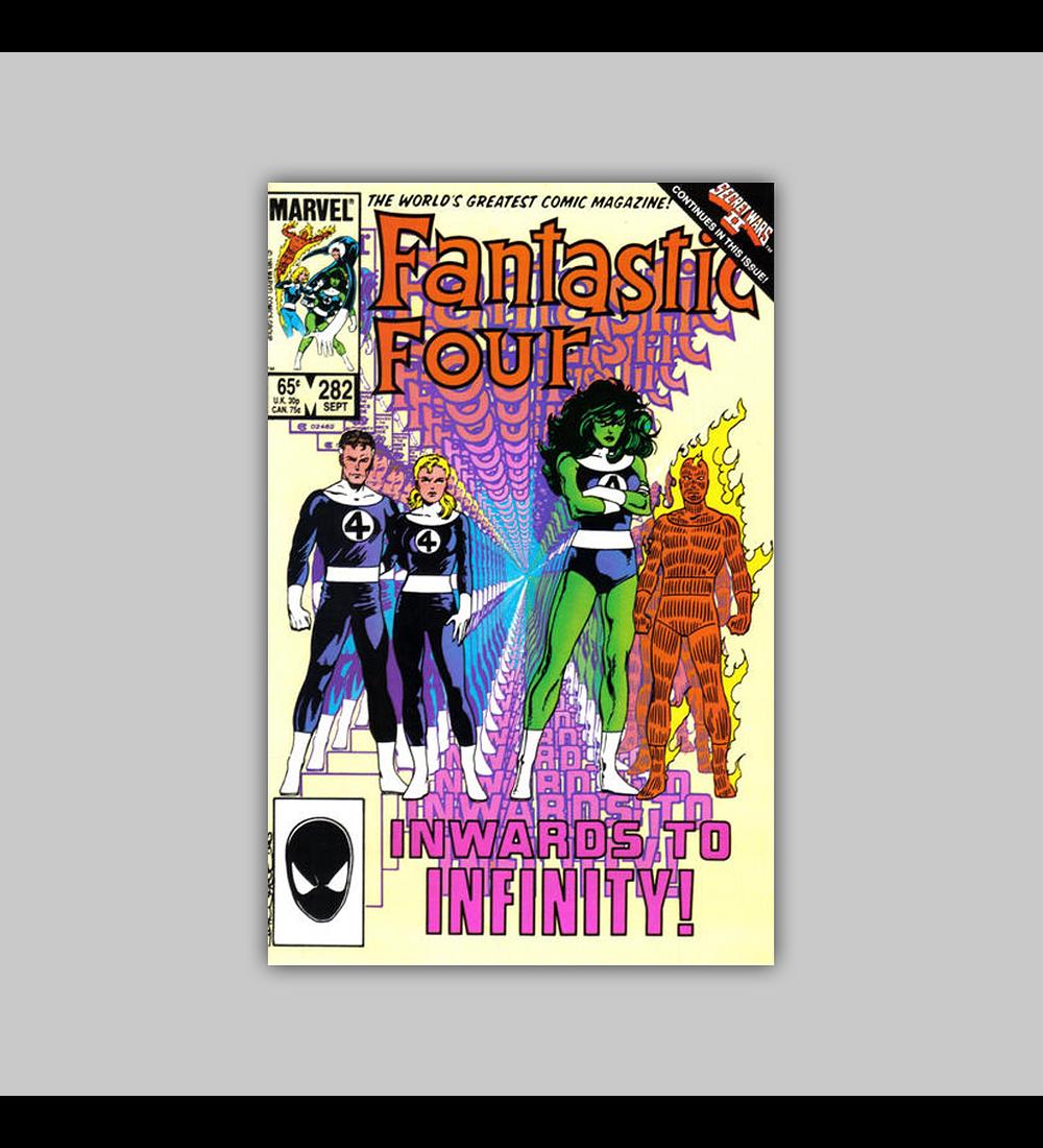 Fantastic Four 282 1985