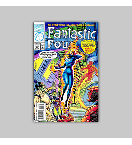 Fantastic Four 387 Die-cut Foil 1994