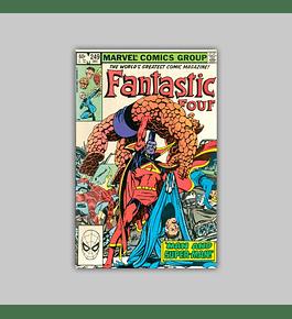 Fantastic Four 249 1982