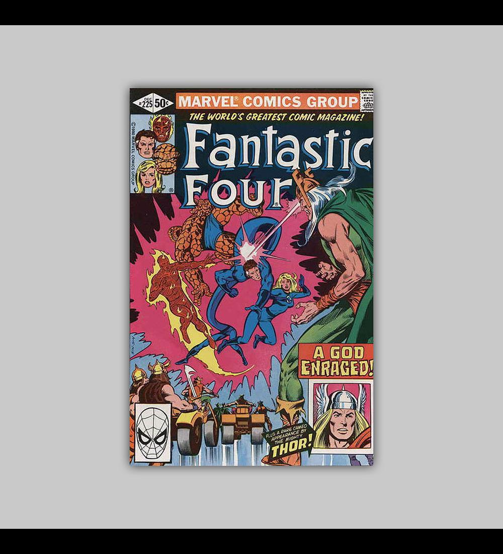 Fantastic Four 225 VF/NM (9.0) 1980