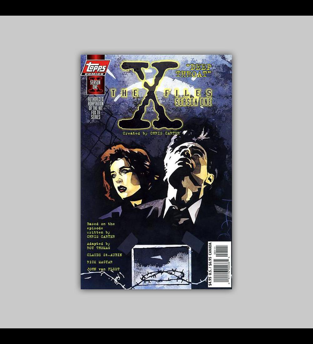 The X-Files Season One: Deep Throat 1997