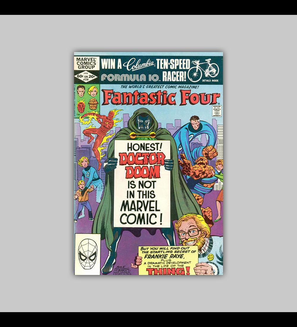 Fantastic Four 238 1982