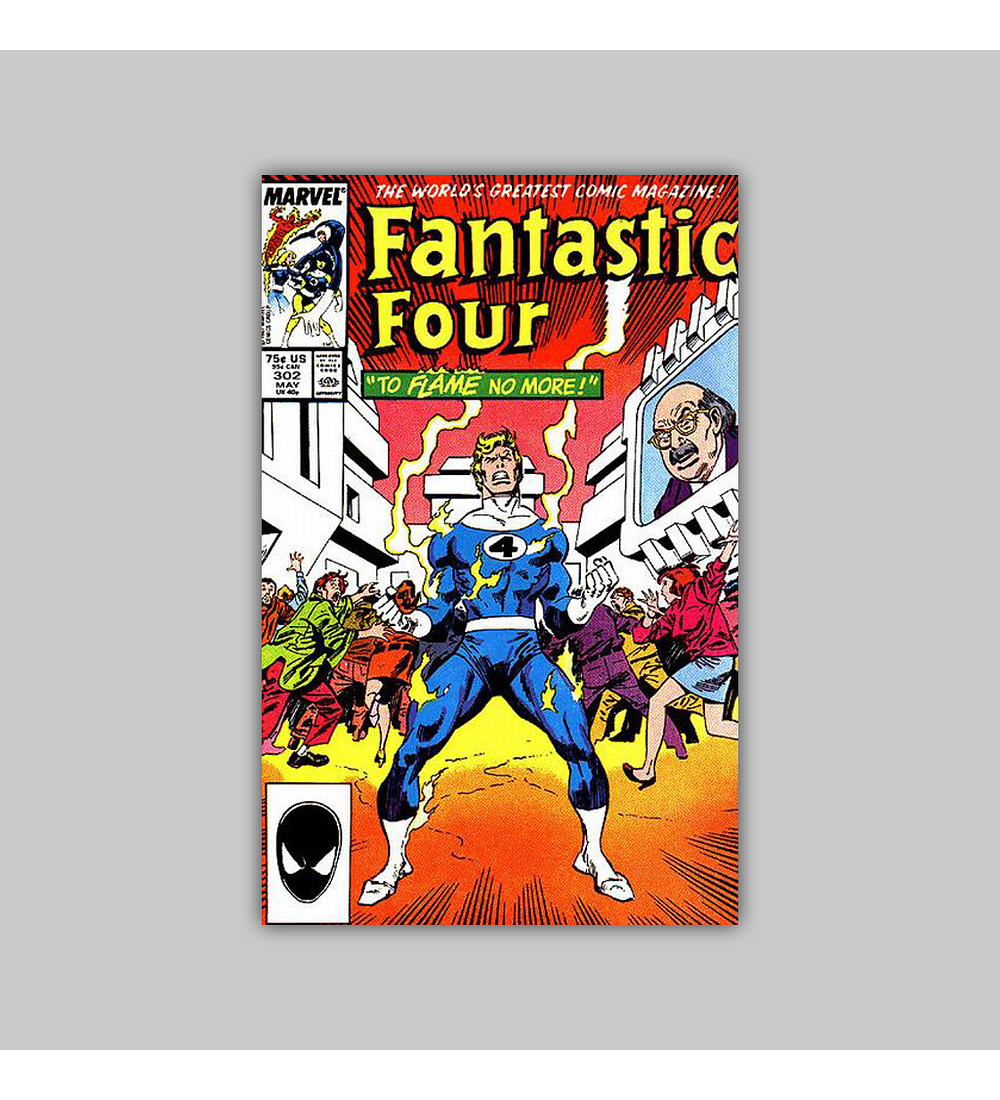 Fantastic Four 302 1987
