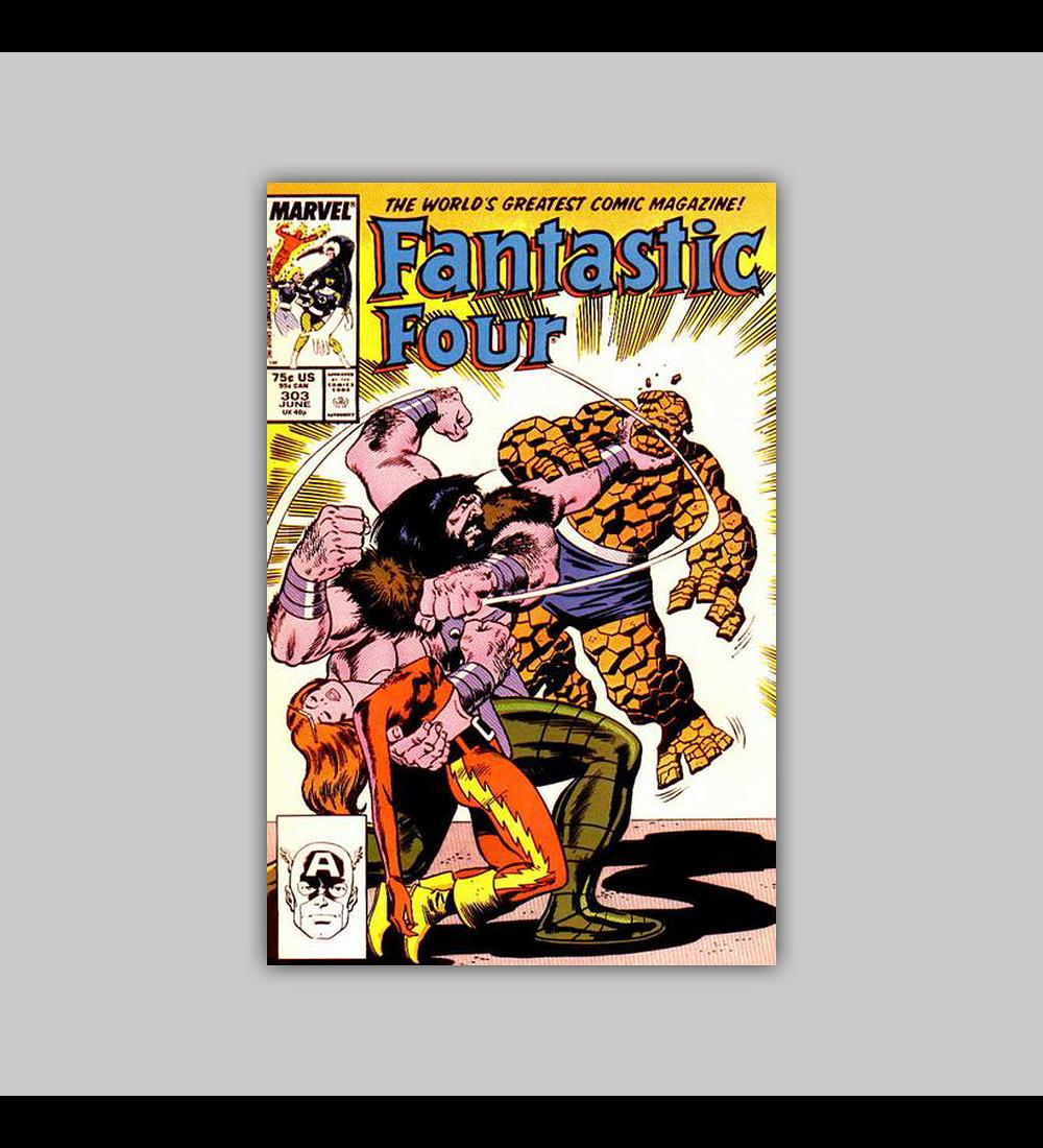 Fantastic Four 303 1987