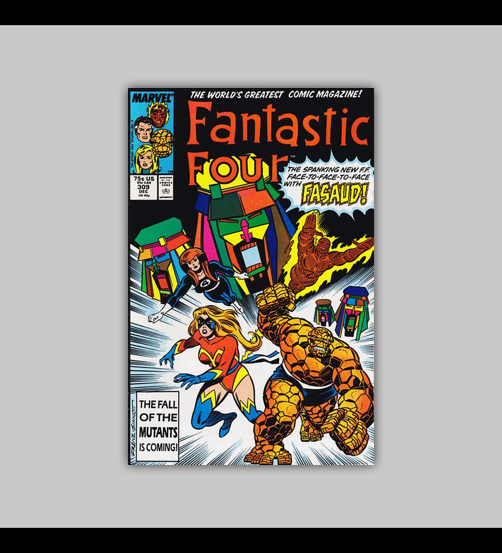 Fantastic Four 309 1987