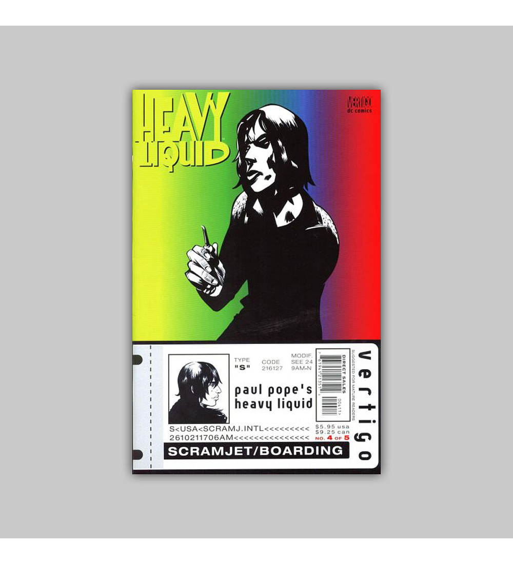 Heavy Liquid (complete limited series) 1999