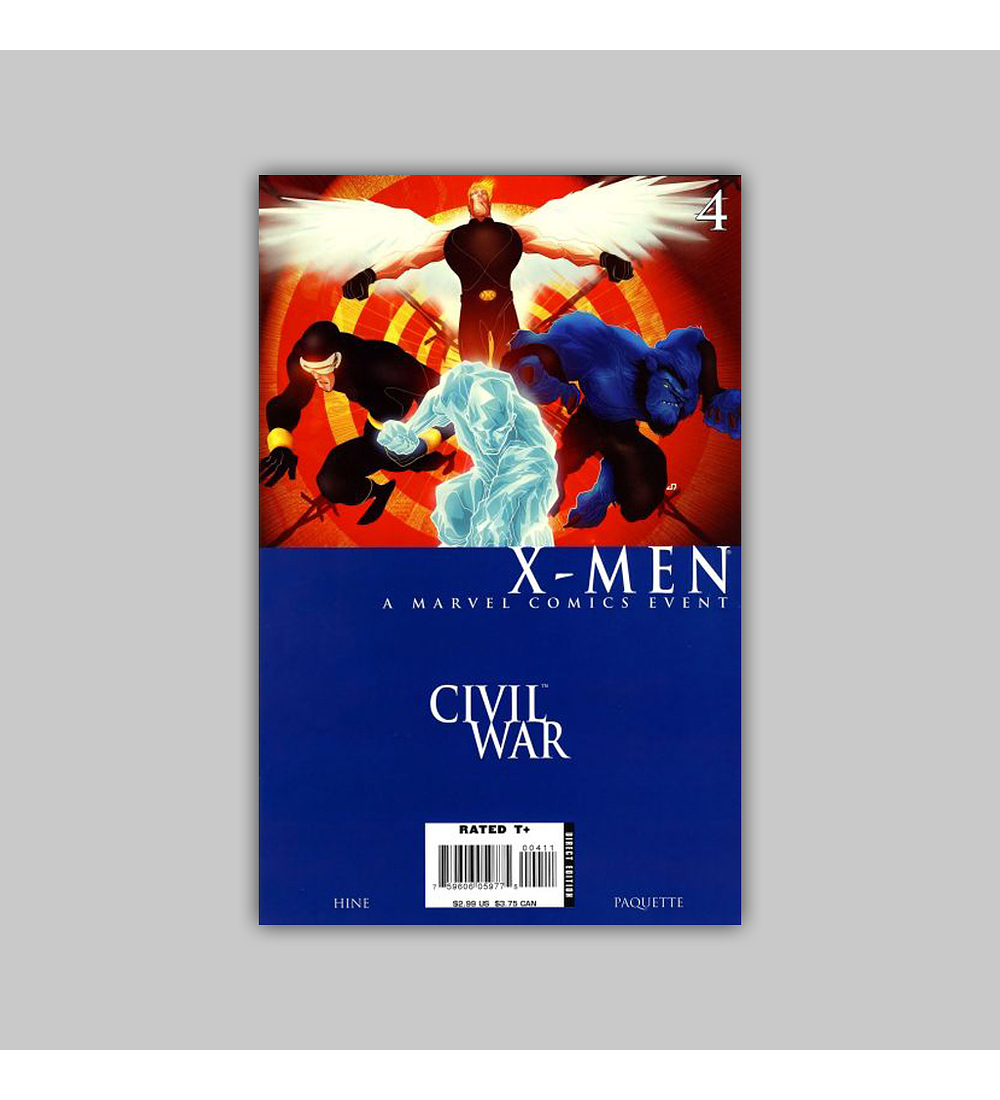 Civil War: X-Men (complete limited series) 2006