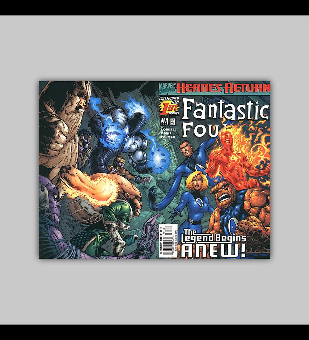 Fantastic Four (Vol. 3) 1 1998