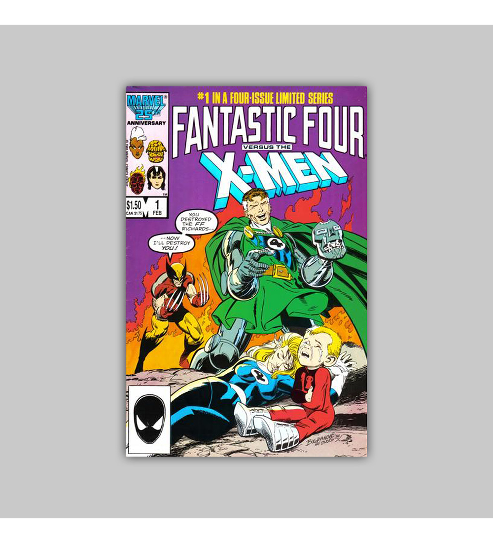 Fantastic Four vs. X-Men 1 1987