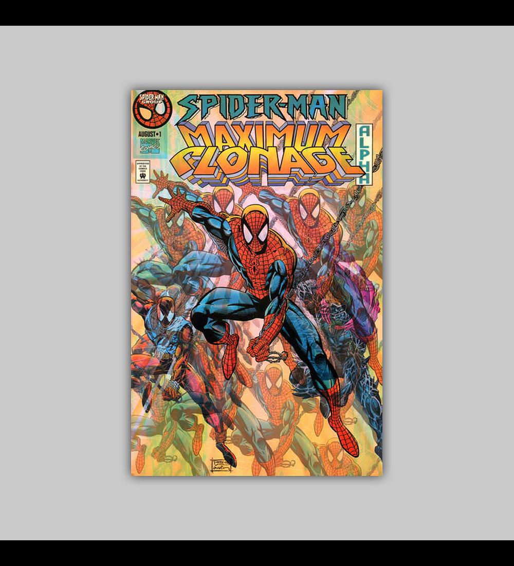 Spider-Man Maximum Clonage: Alpha 1 Acetate 1995
