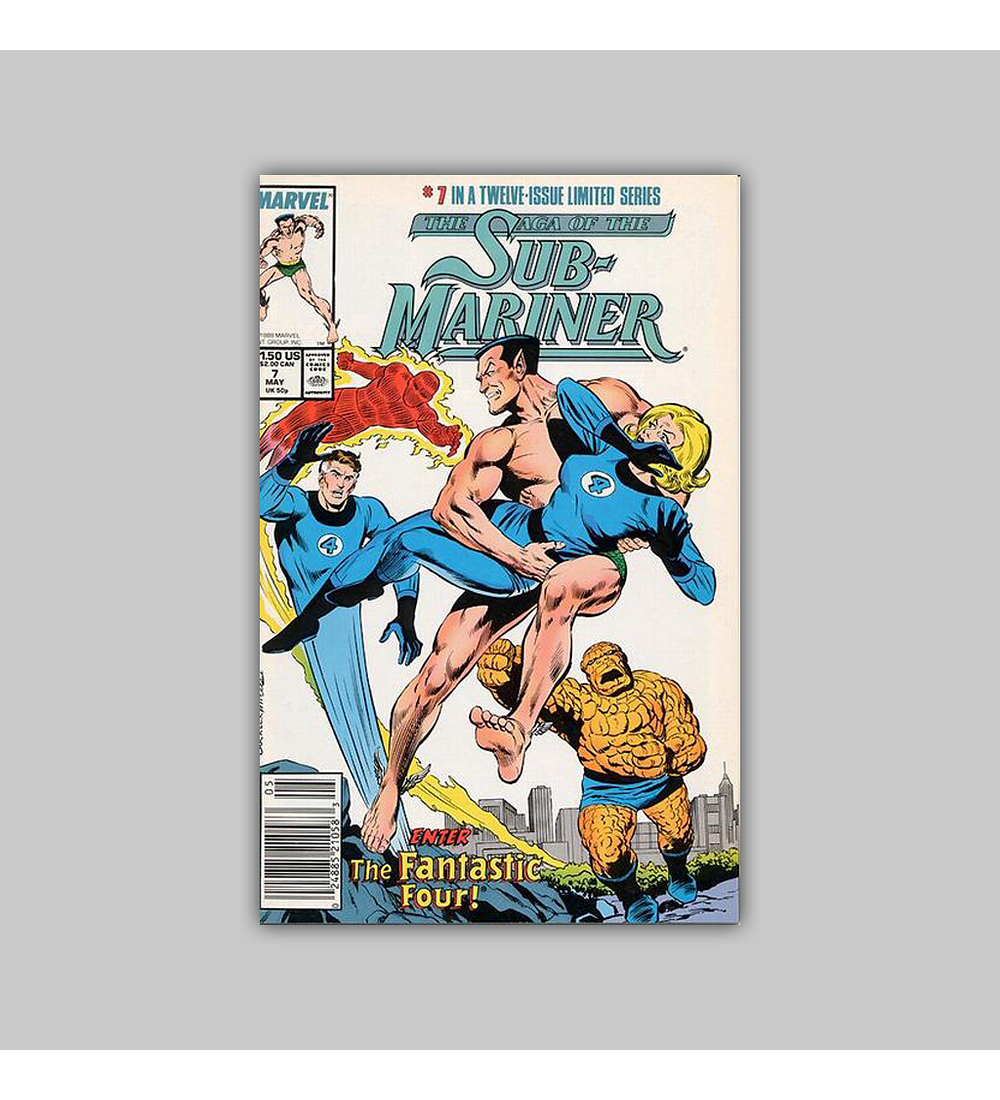 The Saga of the Sub-Mariner (complete limited series) 1989