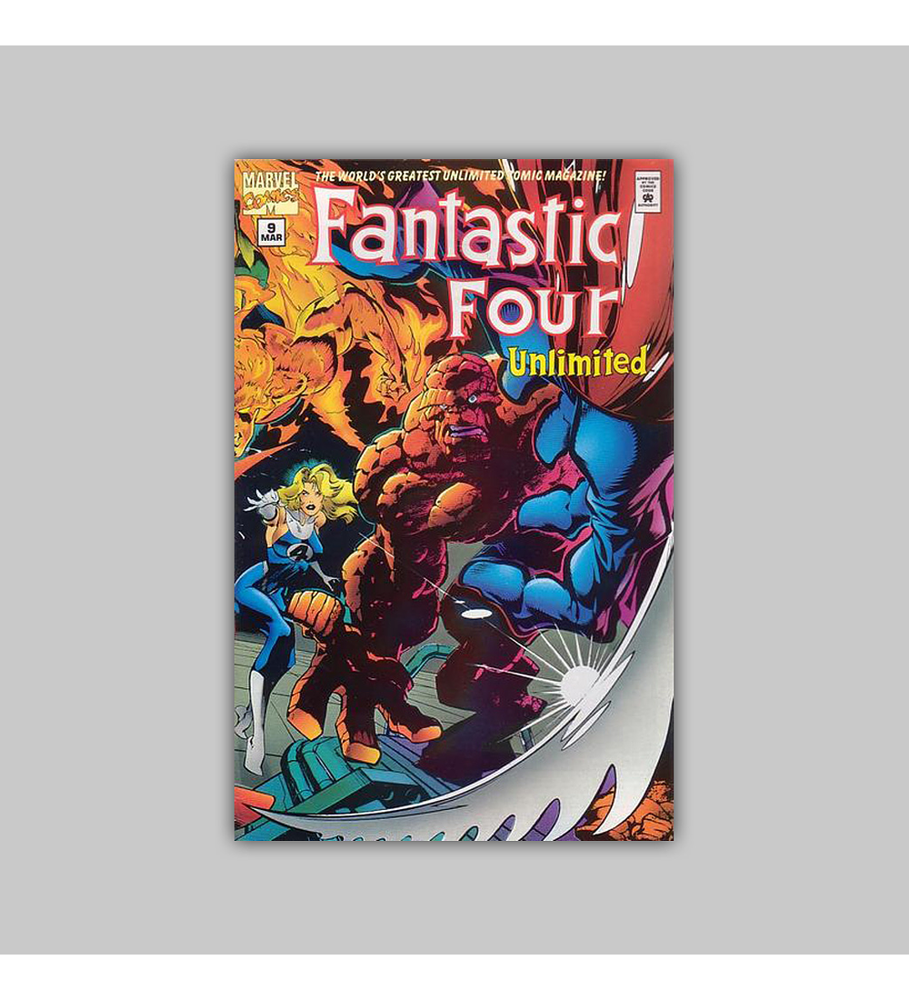 Fantastic Four Unlimited 9 1995