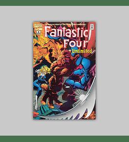 Fantastic Four Unlimited 9 1995