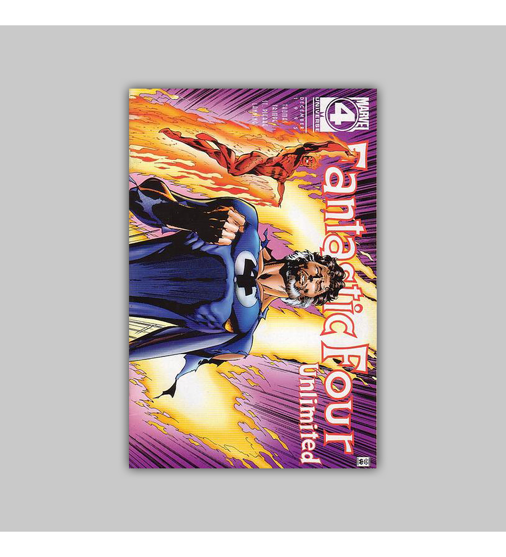 Fantastic Four Unlimited 12 1995