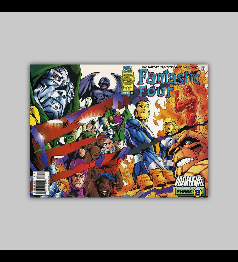 Fantastic Four 416 1996