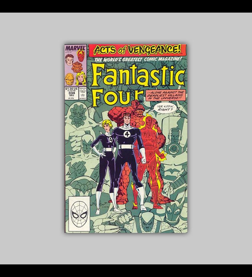 Fantastic Four 334 1989