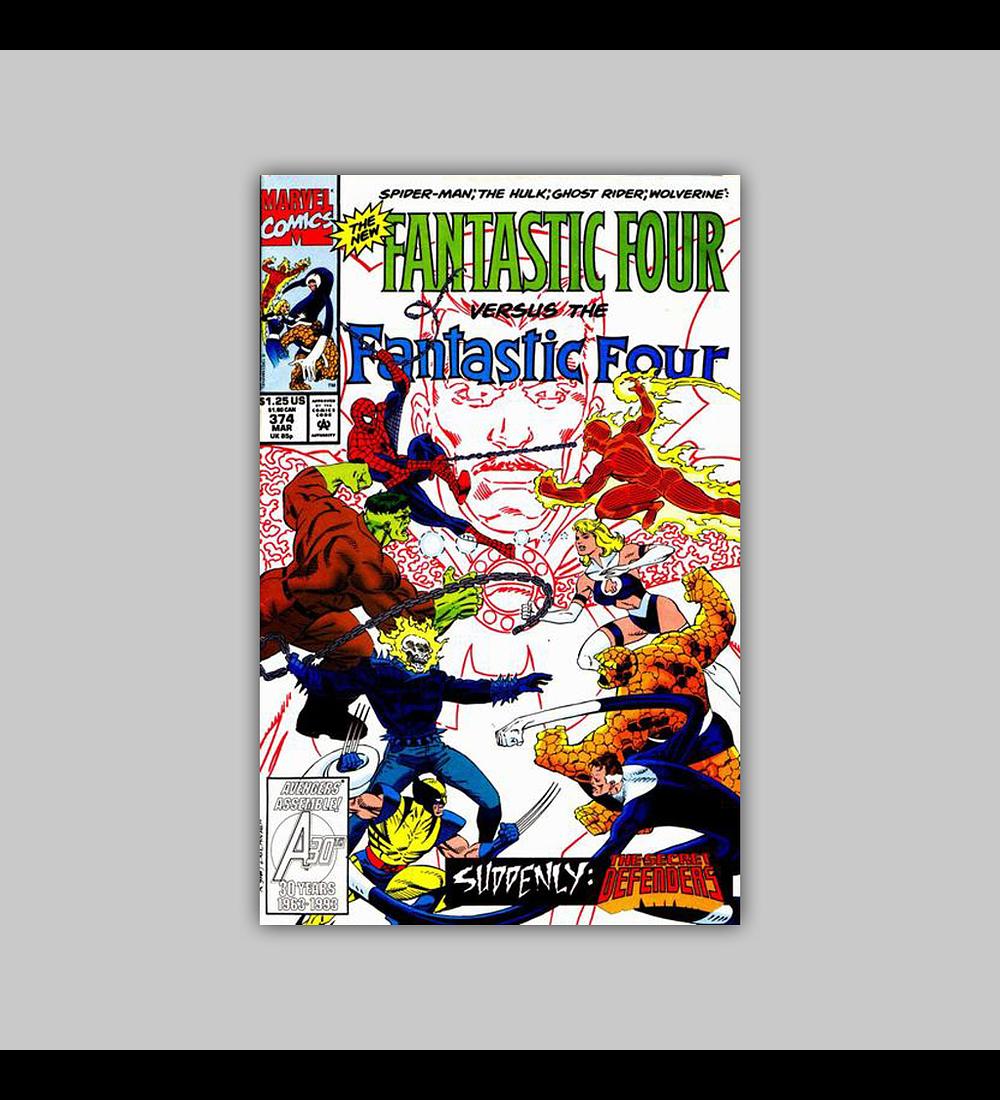 Fantastic Four 374 1993