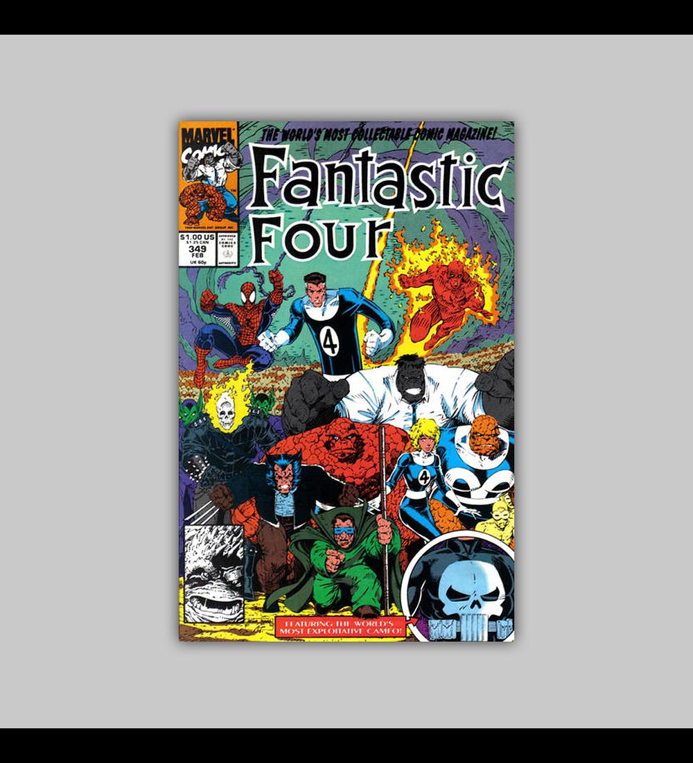 Fantastic Four 349 1991