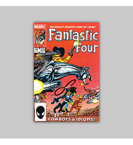 Fantastic Four 272 1984