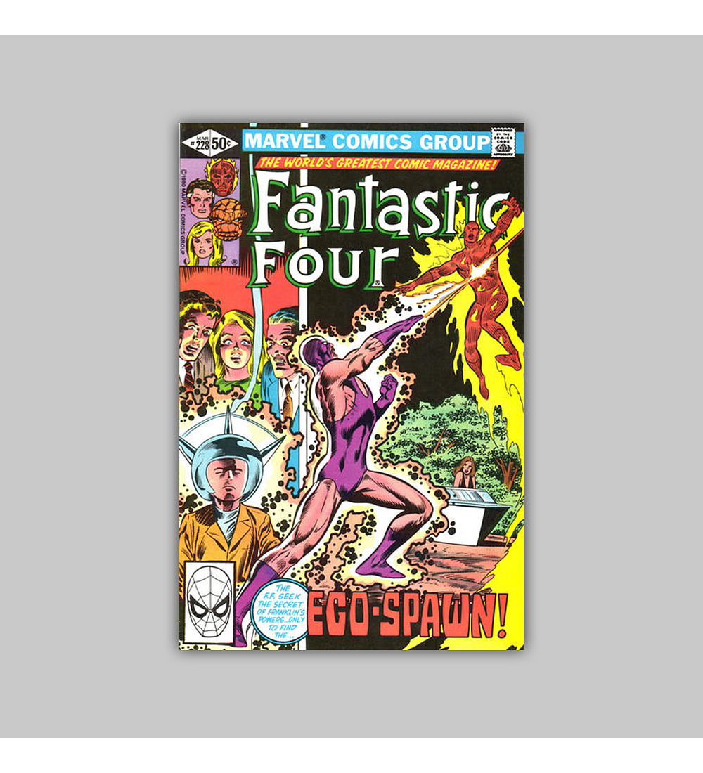 Fantastic Four 228 VF (8.0) 1981