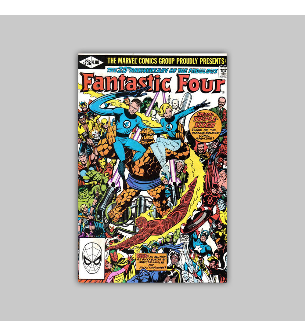 Fantastic Four 236 1981