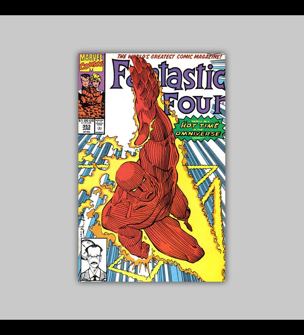 Fantastic Four 353 1991