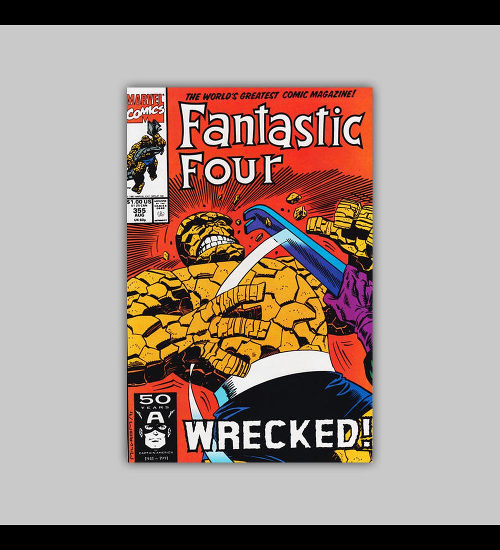 Fantastic Four 355 1991