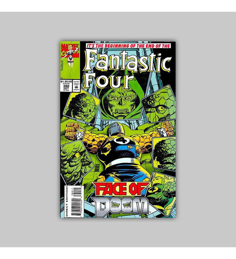 Fantastic Four 380 1993