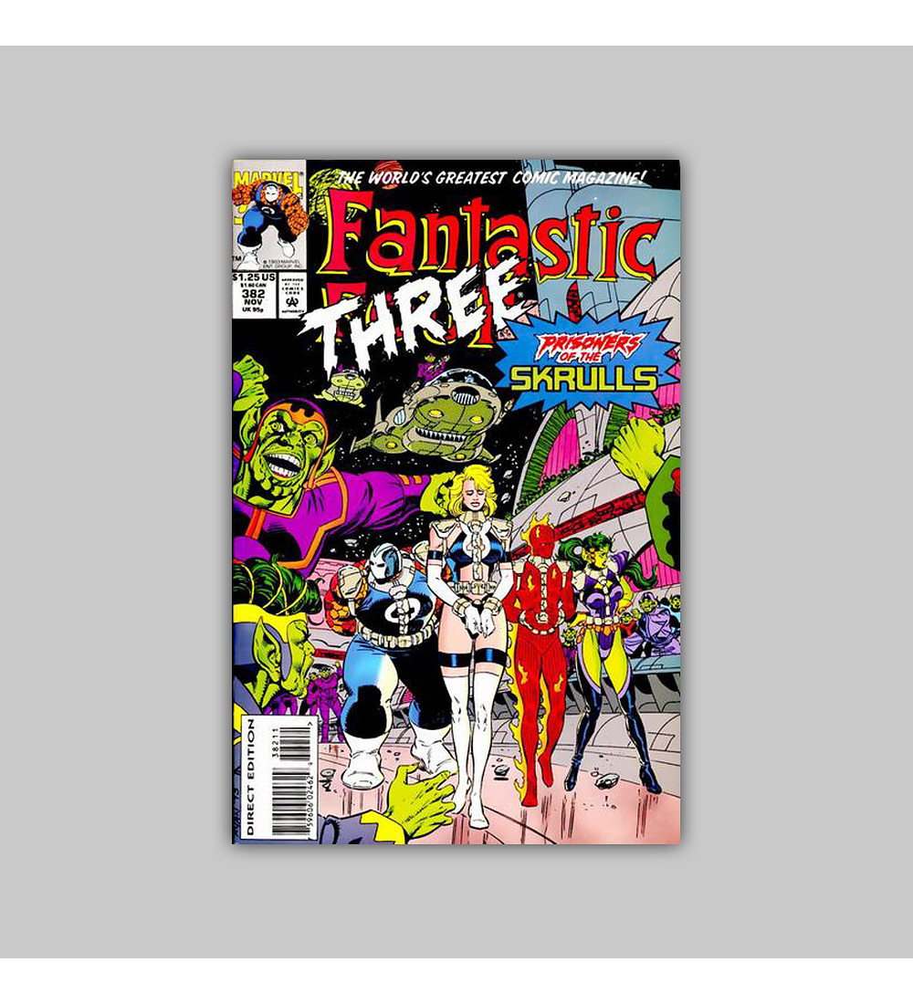 Fantastic Four 382 1993