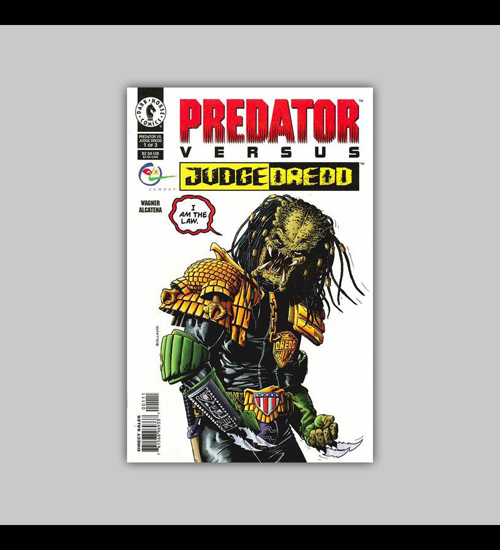 Predator Vs. Judge Dredd 1 VF/NM (9.0) 1992