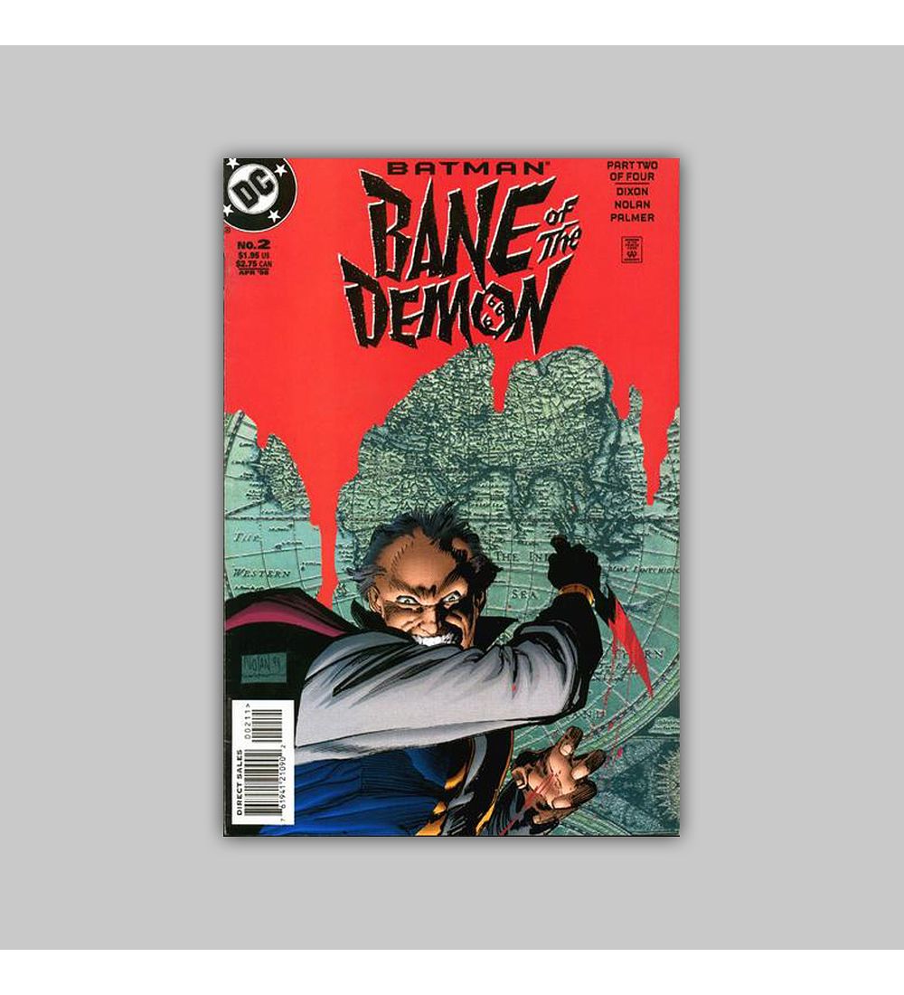 Batman: Bane of the Demon (complete limited series) 1998