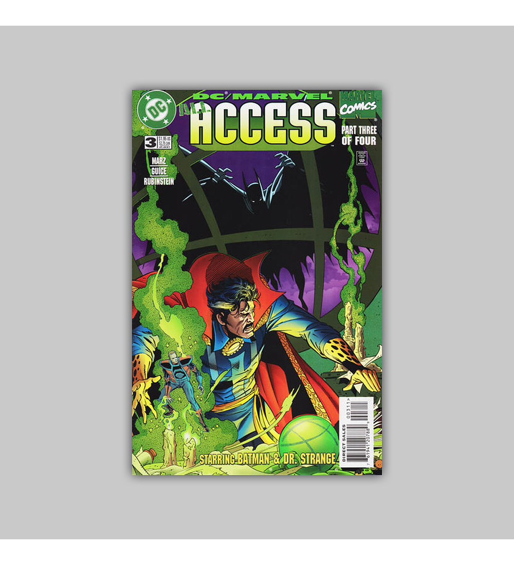 DC/Marvel: All Access 1996 (complete limited series)