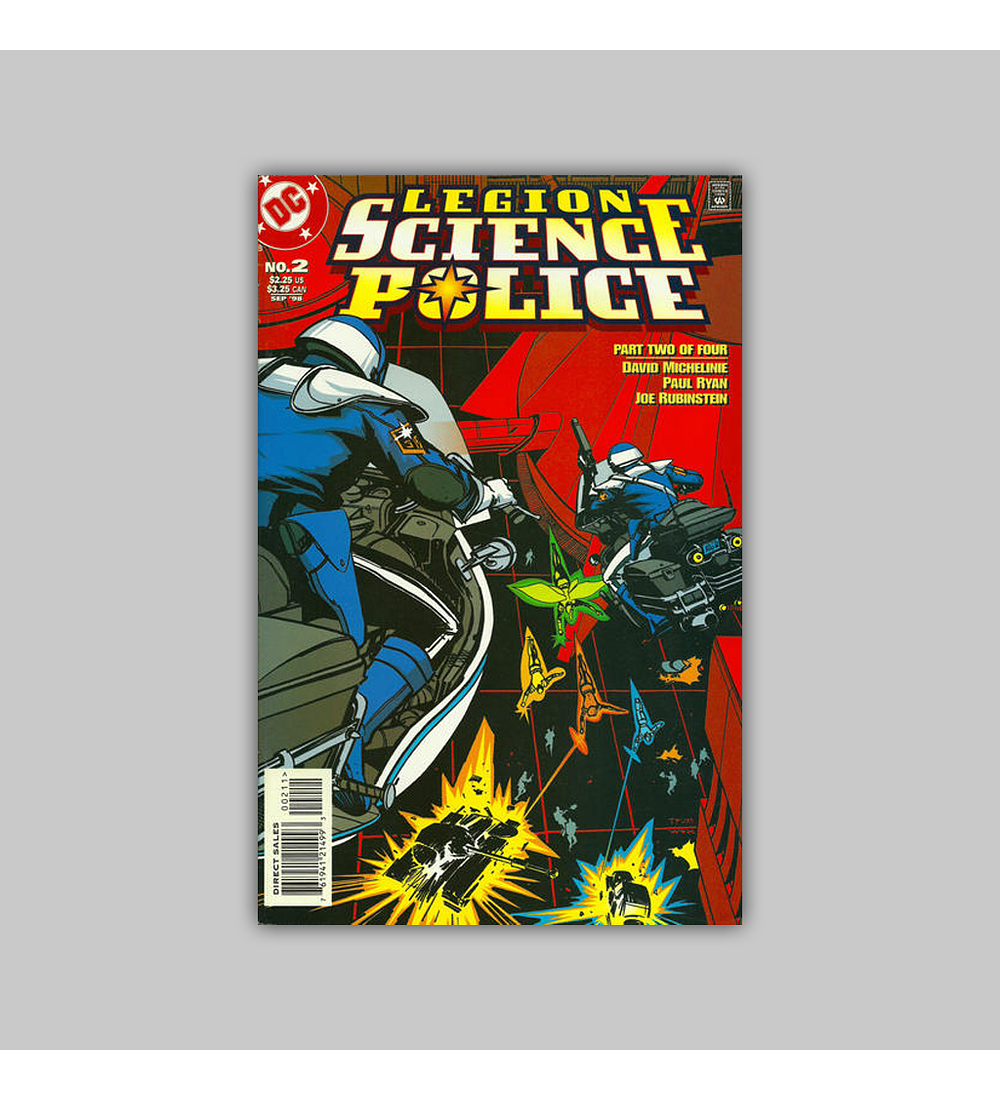 Legion: Science Police (complete limited series) 1998