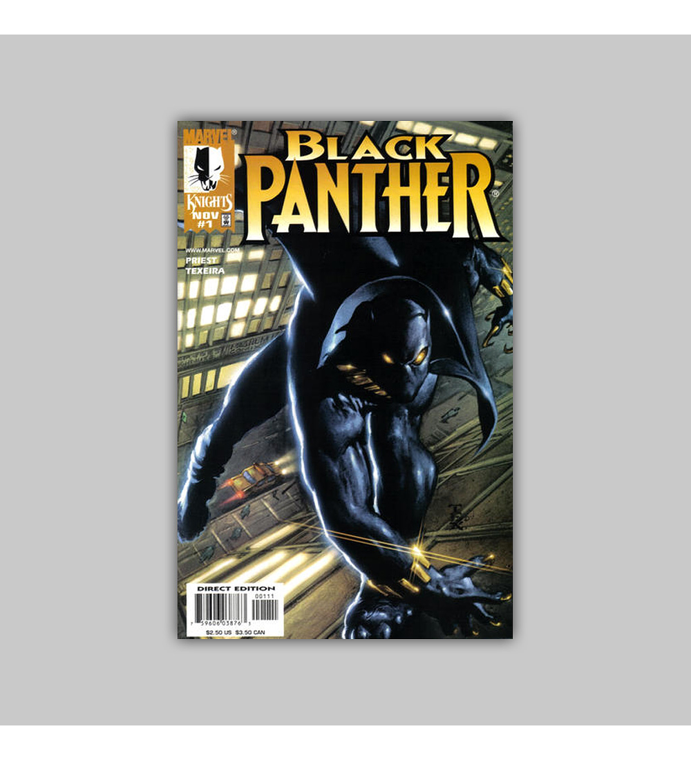 Black Panther (Vol. 2) 1 1998