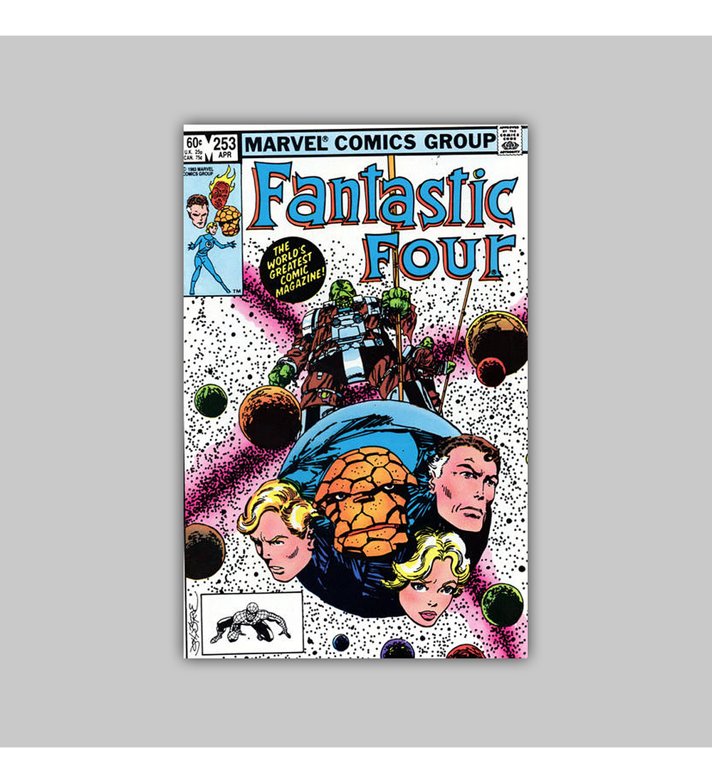 Fantastic Four 253 1983