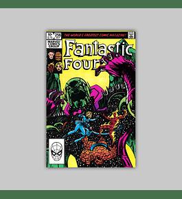 Fantastic Four 256 1983