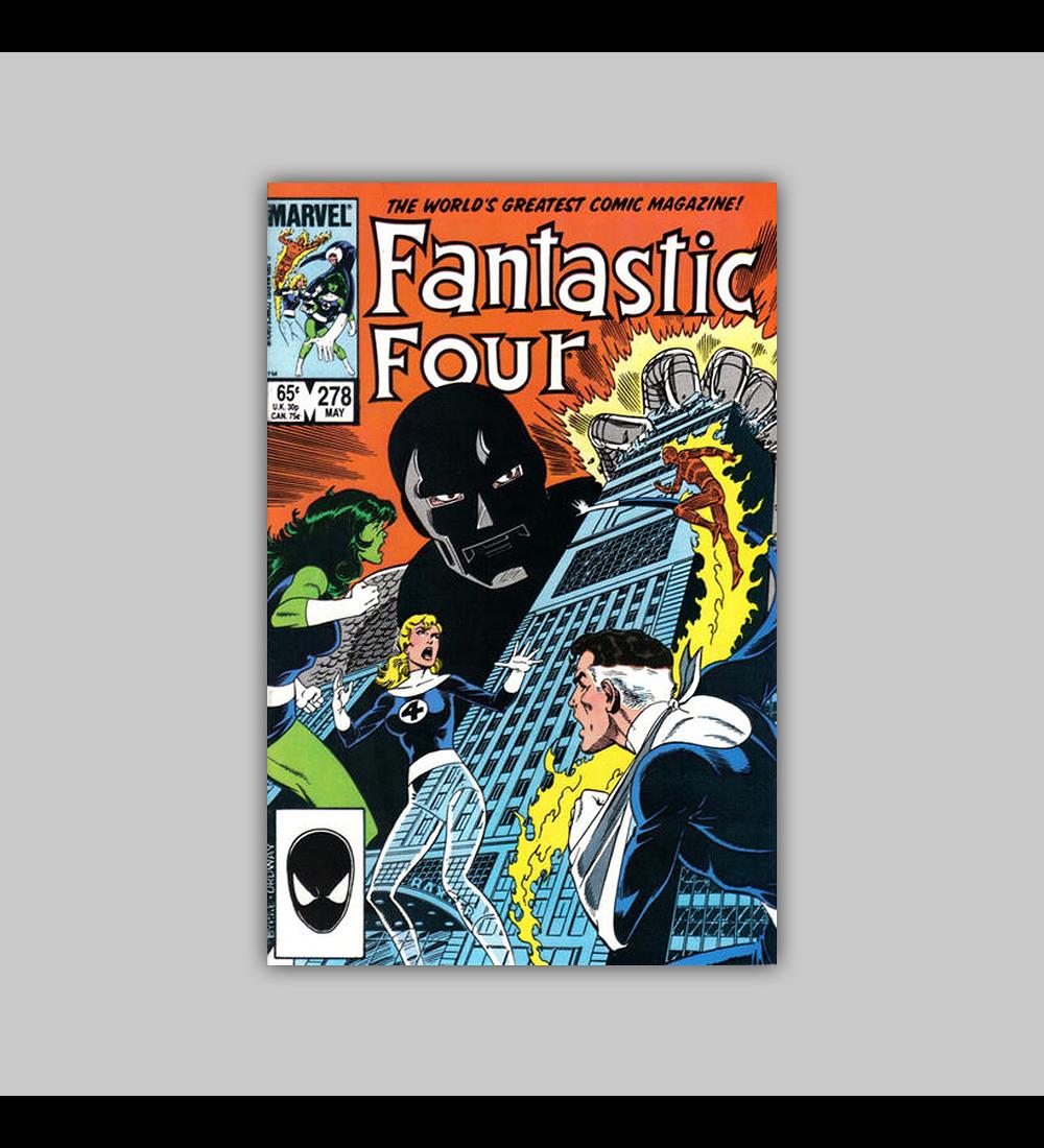 Fantastic Four 278 1985