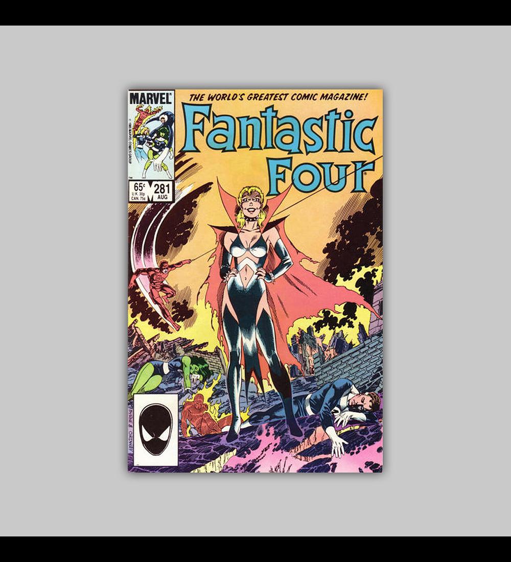 Fantastic Four 281 1985